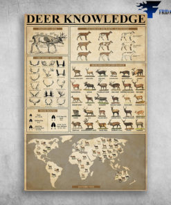 Deer Knowledge Deer Breeds Of The World Parts Of A Deer