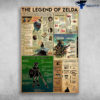 The Legend Of Zedla Hero Of Time Diagram The Hero Is Triumphant