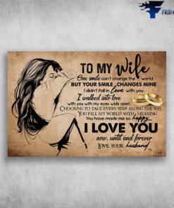 To My Wife I Love You Now Until And Forever Love Your Husband