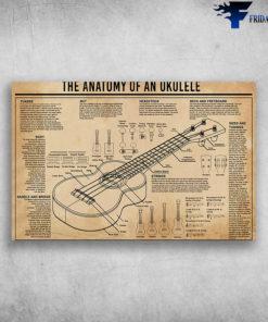 Ukulele Lovers The Anatomy Of An Ukulele Saddle And Bridge Of Ukulele