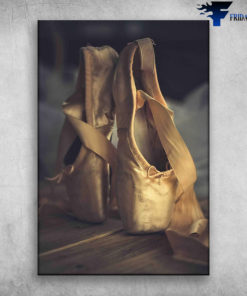 Ballet Dance Ballet For Life Ballet Shoes Well-Worn Ballet Pointe Shoes