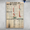 Kitchen 101 Volume Conversions Mass And Volume Equivalents Cooking Methods
