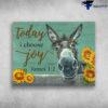 Beautiful Flower Painting Sloth Today I Choose Joy James 1 2