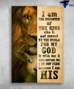Beautiful Lion And Little Deer I Am Daughter Of The King Who Is Not Moved By The World