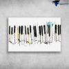 Beautiful Painting Piano Musical Instrument Piano Instrument Keyboard