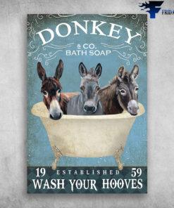 Donkey And Co Bath Soap Established Wash Your Hooves