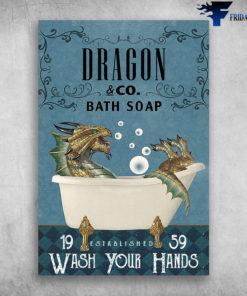 Dragon In Bathtub Bath Soap Established Wash Your Hands
