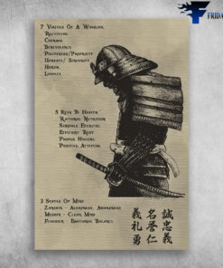 7-5-3 Code Of Samurai 7 Virtues Of A Warrior 5 keys To Health 3 States Of Mind