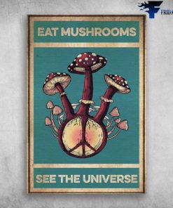 Eat Mushrooms See The Universe