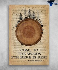 Camping Come To The Woods For Here Is Rest John Muir