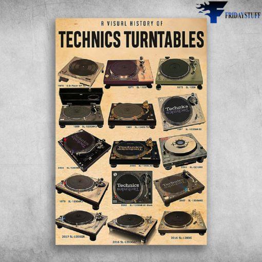 A Visual History Of Technics Turntables