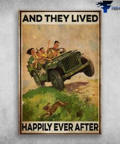 And They Lived Happily Ever After - Willys Jeep