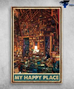 Library Book - My Happy Place