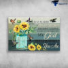 Way Maker Miracle Worker Promise Keeper Light In The Darkness My God - Hummingbirds And Sunflower