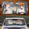 BULL TERRIER Dog COUPLE