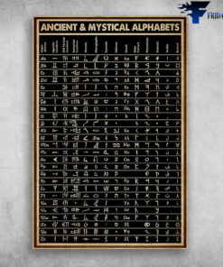 Ancient & Mystical Alphabets