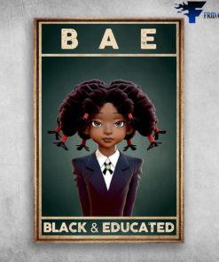 Bae Black & Educated - Black Girl School