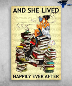 And She Lived Happily Ever After - Girl Love Read Book
