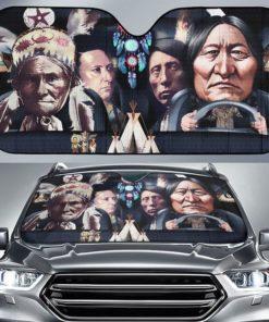 Native American Chief Statue