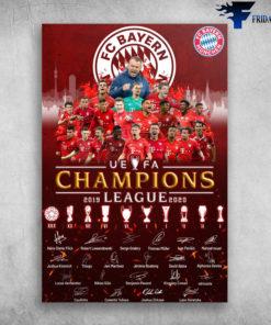 UeFa Champions 2019 League 2020 - Fc Bayern