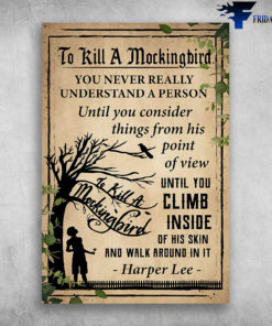 Book To Kill A Mockingbird -Harper Lee-
