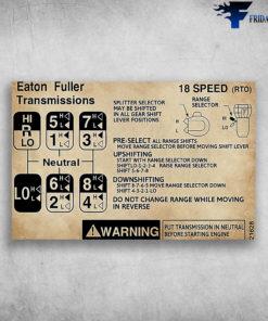 Eaton Fuller Transmission 18 Speed (RTO)