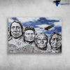 Founding Fathers And The Eagle - Mount Rushmore