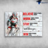 Man Riding Bicycle - When Belive When Others Doubt