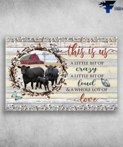 Black Cow On The Farm - This Is Us, A Little Bit Of Crazy, A Little Bit Of Loud, A Whole Lot Of Love