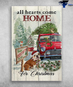 Bull Dog And The Red Car - All Hearts Come Home For Christmas, Fresh Christmas For Sale