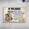 Lion family - In This House, We Do Autism, We Do Lentdowns And Avoidance
