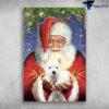 Santa Clause - West Highland White Terrier Cherish Christmas
