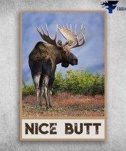 Moose funny - nice butt, christmas gift