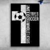 Soccer Cross - All I Need Today Is A Little Bit Of Soccer And Whole Lot Of Jesus