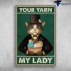 The Gentle Cat - Your Yarn, My Lady, Knitting And Crocheting