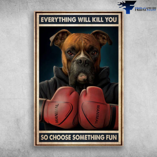 Boxer Boxing - Everything Will Kill You, So Choose Something Fun