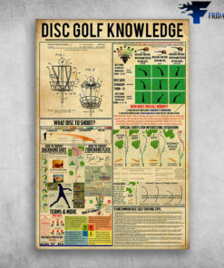 Disc Golf Knowledge - What Disc To Shoot, How To Throw, Backhand Shot, How To Throw Forehand Flick, Special Shoots For Interesting Situations, How Does This All Works