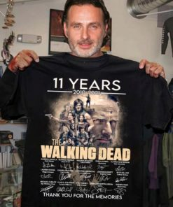 The walking dead 11 years anniversary from 2010-2021