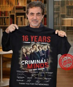 16 years 2005 - 2021 Criminal minds the final season thank you for the memories