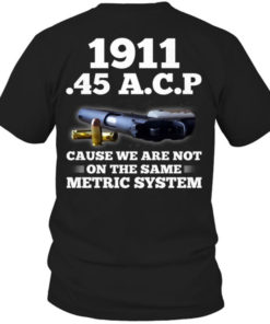 1911 45A.C.P cause we are not on the same metric system