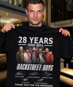 28 years 1993-2021 Backstreet Boys Thank you for memories