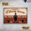 Girl Gym Room, Fitness Room, No Pain, No Gain