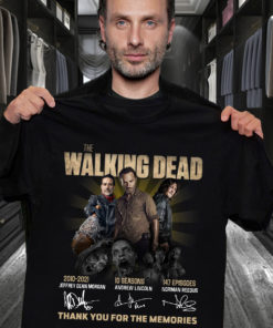 The walking dead 2010 to 2021 10 seasons 147 episodes Thank you for the memories