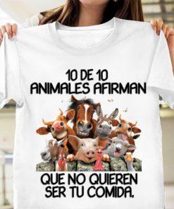 10 de 10 Animales afirman que no quieren ser tu comida - Cow, horse, chicken, sheep