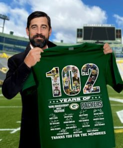 102 years of the greatest NFL teams GPackers thank you for the memories