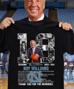18 seasons Roy Williams 2003 - 2021 Thank you for the memories