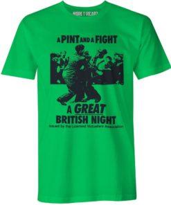 aPINTandaFIGHT a great british night
