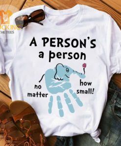 A person's a person no matter how small - Elephant and hand