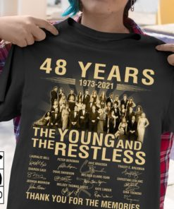 48 years 1973 - 2021 The young and the restless thank you for the memories