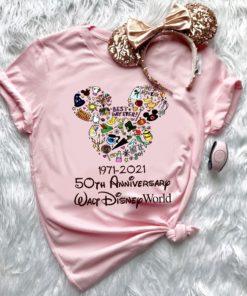1971 - 2021 50th anniversary Walt Disney world